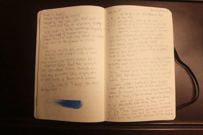 diary formats