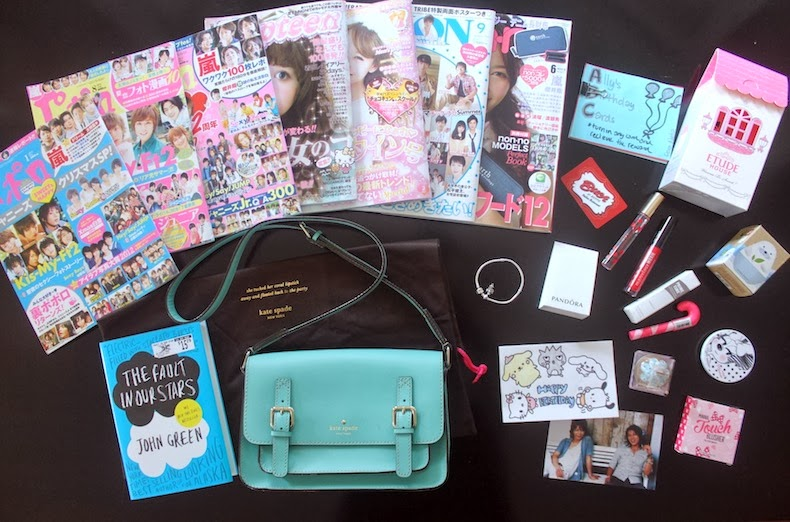 Birthday Presents Japanese Magazines Light String For Room Kate Spade Bag Pandora Charm Bracelet More