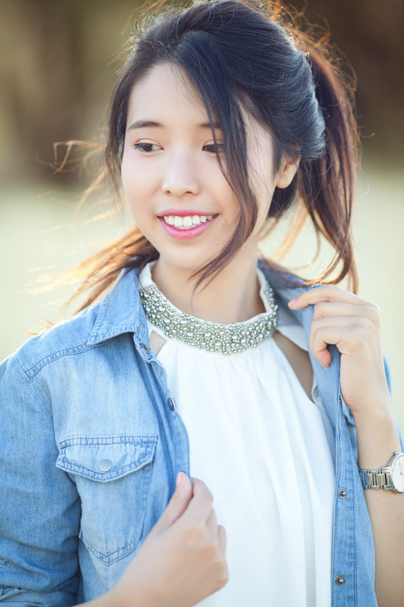 jeima, denim, shift dress, sequined, kate spade new york, ally gong, fashion, fashion blogger, flogger, asian, korean, chinese, japanese, kpop, iu, cute, pretty, inspiration, style, ootd, asian style, ulzzang, model, hairstyle, instagram, los angeles, girl, teen, teenvogue, in style, korea, seoul, basic, lotd, dailylook,