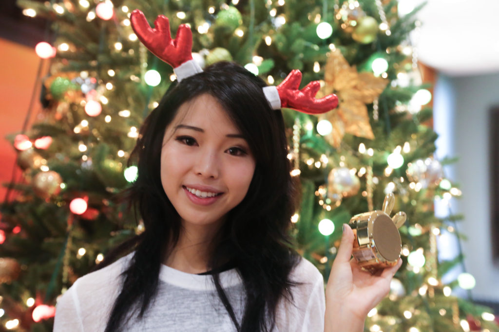 Ally Gong Pottery Barn Teen Christmas Holiday Asian Girl